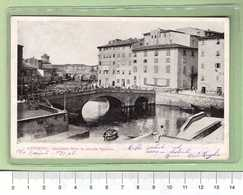 LIVORNO Piccola Venezia _ Cartolina BN VG SF 1905 Rif.C0017 - Livorno