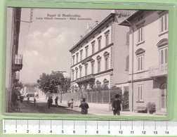 BAGNI Di MONTECATINI Cso Vittorio Emanuele Hotel Scannavini _ PISTOIA Cartolina BN NVG 19xx Rif.C0020 - Pistoia
