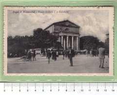 BAGNI Di MONTECATINI Piazza Umberto I E Cattedrale _ PISTOIA Cartolina BN VG 1921 Rif.C0021 - Pistoia