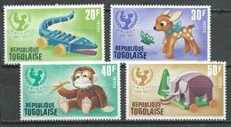 Togo YT N°727/730 UNICEF Jouets D'enfants Neuf ** - Togo (1960-...)