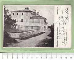 FAUGLIA Montalto Villa Bellini Pietri _ PISA Cartolina BN VG 1922 Rif.C0023 - Pisa