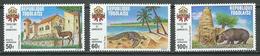 Togo Poste Aérienne YT N°158/160 Tourisme Et Armoiries Neuf ** - Togo (1960-...)