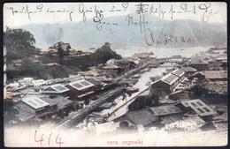 Japan Sannomiya Kobe 1906 / Oura, Nagasaki / Panorama, Boats, Bridges - Kobe