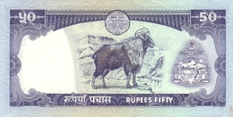 NEPAL P. 33b 50 R 1985 UNC - Népal