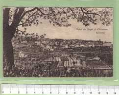 BAGNI Di CHIANCIANO Panorama _ SIENA Cartolina BN VG 1917 Rif.C0030 - Siena