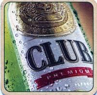 Lote Ec2, Ecuador, Posavaso, Coaster, Club Premium, Cuadrada - Beer Mats