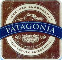 Lote A74, Argentina, Posavaso, Coaster, Patagonia, Con Lupulo - Beer Mats