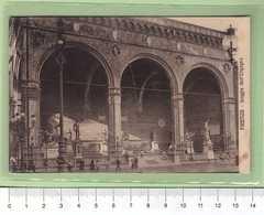 FIRENZE Loggia Dell'Orgagna _ Cartolina BN NVG 1916 Rif.C0033 - Firenze (Florence)