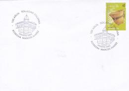 100 AÑOS SOCIEDAD ITALIANA. SPECIAL COVER 2003 MARCOS JUAREZ. ARGENTINE - BLEUP - Argentine