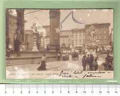 FIRENZE Loggia Del Lanzi _ Cartolina BN VG 1907 Rif.C0037 - Firenze (Florence)