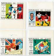 REPUBBLIQUE  DU  TCHAD   ITALIE  FINALISTE  MEXICO  70          (SET    MNH** ) - Tchad (1960-...)