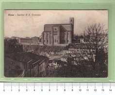 SIENA Basilica S. Domenico _ Cartolina BN VG 19xx Rif.C0039 - Siena