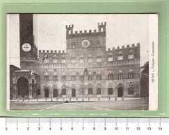SIENA Palazzo Comunale _ Cartolina BN VG 1931 Rif.C0041 - Siena