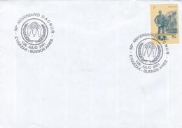 50°ANIVERSARIO OACNUR. SPECIAL COVER 2001 BUENOS AIRES. ARGENTINE - BLEUP - Argentine