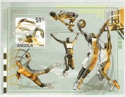 ANGOLA    OLYMPIC  GAMES   2008   PECHINO -  CINA            (SHEET   MNH** ) - Angola