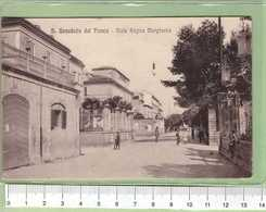 SAN BENEDETTO DEL TRONTO Viale Regina Margherita _ ASCOLI PICENO Cartolina BN VG Rif.C0048 - Ascoli Piceno