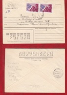 1993.Letter .Artsakh . Nagorny Karabakh. Gadrut - Russia. Pyatigorsk. - Arménie