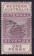 Western Australia 1893 SG F11 Used - 1854-1912 Western Australia