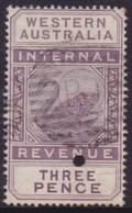 Western Australia 1893 SG F13 Used - 1854-1912 Western Australia