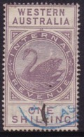 Western Australia 1893 SG F15 Used - 1854-1912 Western Australia