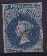 South Australia 1867 Roulettedx P.11.5 SG 58 Used - 1855-1912 South Australia