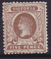 Victoria 1908 P.12.5 SG 422 Mint Hinged - 1850-1912 Victoria