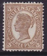 Queensland 1907 P.13x12.5 SG 306 Mint Hinged - 1860-1909 Queensland