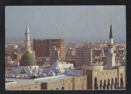 Saudi Arabia Picture Postcard General View Holy Mosque Medina Madina Islamic View Card - Arabie Saoudite