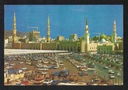 Saudi Arabia Picture Postcard General View Holy Mosque Medina Madina Islamic View Card - Saudi Arabia