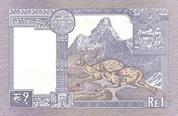 NEPAL P. 37 1 R 1995 UNC (2 Billets) - Népal