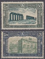 ITALIA - 1930 - Lotto Di Due Valori Nuovi MH: Yvert 255/256,  Come Da Immagine. - 1900-44 Victor Emmanuel III