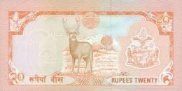 NEPAL P. 38a 20 R 1985 UNC - Népal