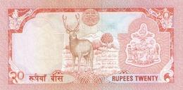 NEPAL P. 38a 20 R 1990 UNC - Népal
