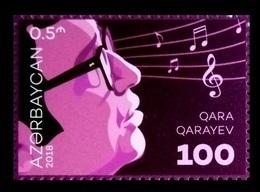 Azerbaïjan 2018 Mih. 1367 Music. Composer Gara Garayev MNH ** - Azerbaïjan