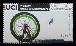 Azerbaïjan 2018 Mih. 1375 Cycling. UCI BMX World Championships In Baku MNH ** - Azerbaïjan