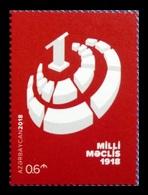 Azerbaïjan 2018 Mih. 1397 National Assembly Of Azerbaijan Milli Majlis MNH ** - Azerbaïjan