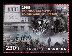 Armenia 2018 Mih. 1089 Spitak Earthquake MNH ** - Arménie