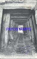 104928 FRANCE PARIS CONSTRUCTION TRAIN METROPOLITANO POSTAL POSTCARD - France