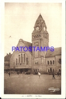104929 FRANCE METZ STATION TRAIN  POSTAL POSTCARD - France