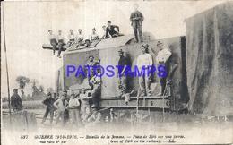 104930 FRANCE SOMME BATTLE CANYON IN THE VIA FERREA 1914 - 1916 POSTAL POSTCARD - France