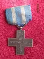 Italia: Merito Di Guerra 1918 - 1945 - Italy