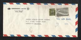 Korea Air Mail Postal Used Cover Korea To Pakistan Boats Ship - Korea (...-1945)