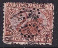 Western Australia 1906 P.12.5 SG 141 Used Perf OS - Gebraucht