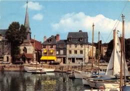 HONFLEUR Le Vieux Bassin Et L Eglise St Etienne 25(scan Recto-verso) MA1827 - Honfleur