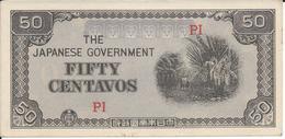 PHILIPPINES   50 Centavos  Nd(1942)  --UNC-- - Philippines