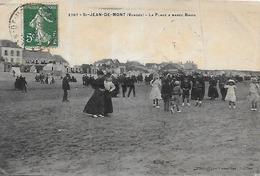 85)  SAINT JEAN De MONT - La Plage à Marée Basse - Saint Jean De Monts