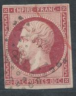 N°17 OBLITERATION SPECIALE. - 1853-1860 Napoléon III