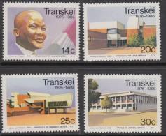D90325 Transkei South Africa 1986  INDEPENDENCE Buildings MNH Set - Afrique Du Sud Afrika RSA Sudafrika - Transkei