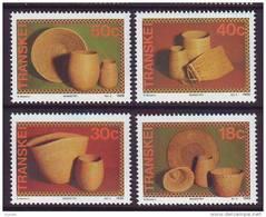 D101225 Transkei 1989 South Africa BASKETRY Cultural Weaving MNH Set - Afrique Du Sud Afrika RSA Sudafrika - Transkei