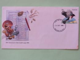 Australia 1984 FDC Stationery Cover - Bird Shell Frog Gould League - 1980-89 Elizabeth II